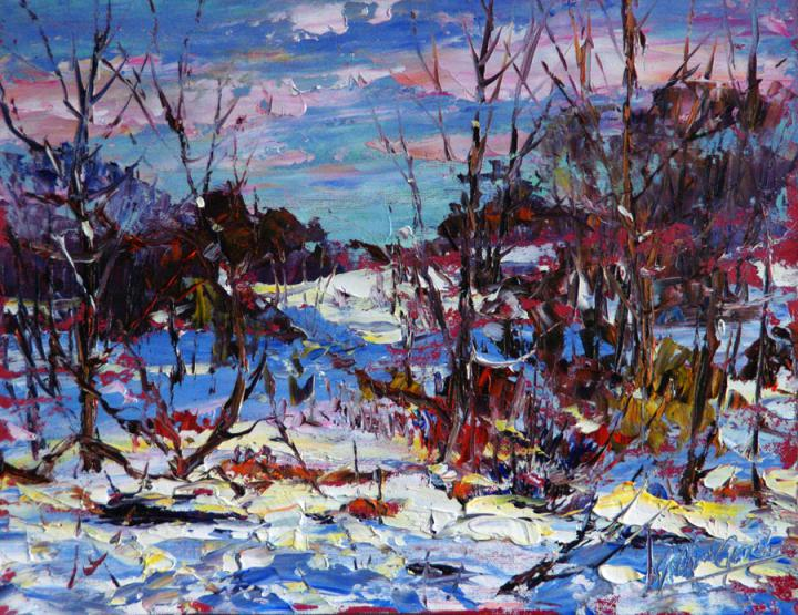 winter-blues-12x16-plein air oil