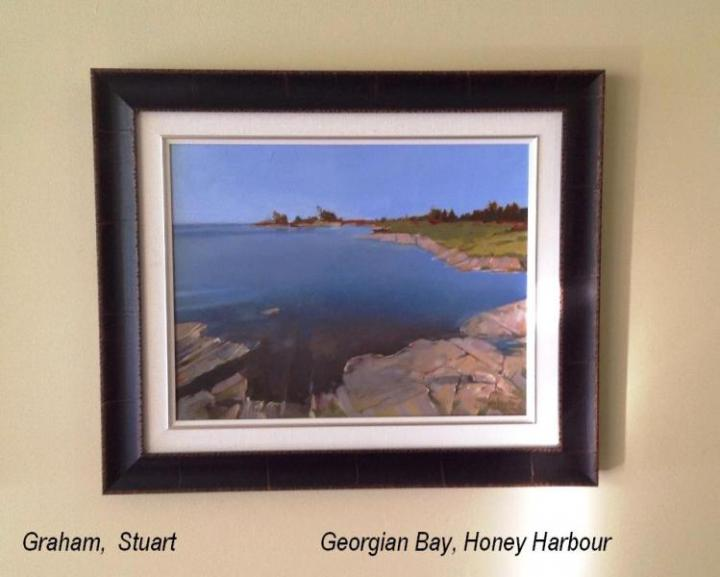 Honey Harbour, Georgian Bay, Honorable Mention 2015 Paint Ontario