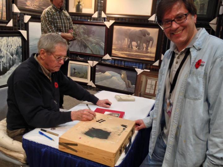 Meeting Robert Bateman