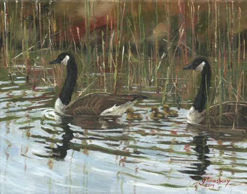 Canadian Geese, Grant Lounsbury