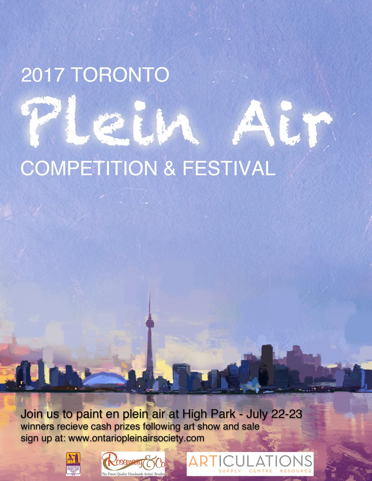 Toronto Plein Air Competition & Festival