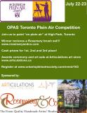 OPAS Toronto Plein Air Competition & Festival